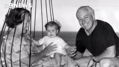 Harold Holt's wife Zara and his children have remembered him fondly. (AAP)