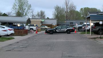 Police believe the suspect drove to the home where a birthday party was being held and opened fire before killing himself. No children were injured in the shooting.