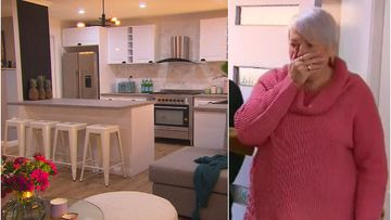 Widow left stunned by surprise home renovation