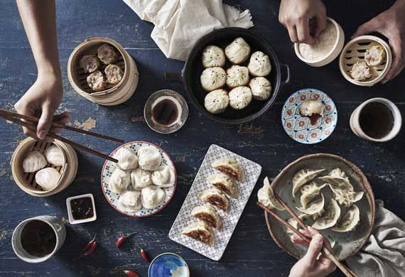 Make your own pork dumplings for Chinese New Year