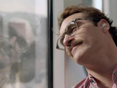 <strong>Best Motion Picture - Musical or Comedy: Her</strong> <p><em>Her</em> is up in the best Picture Category, in what was somewhat of a surprise nomination.