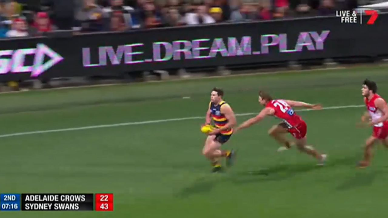Hill erupts as McGovern strolls in