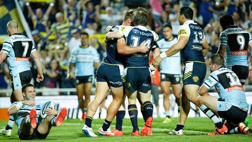 The Cowboys beat the Storm in their preliminary final. (AAP)