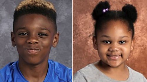 Undated photos of Shanise Myers, 5, and of Jeremiah Myers, 11, who were found dead in an apartment in Troy, N.Y. (Troy Police Department).