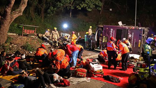 The death toll included 15 men and three women, a police spokeswoman said on customary condition of anonymity. (AAP)