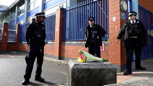 Police officer shot dead by suspect at London police station