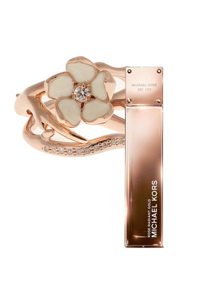 """<a href=""""http://shop.davidjones.com.au/djs/en/davidjones/modern-muse-le-rouge-eau-de-parfum-100ml  Gold Collection Radient Rose Gold, $140 (100ml, EDP), Michael Kors"""" target=""""_blank"""">Gold Collection Radient Rose Gold, $140 (100ml, EDP), Michael Kors</a>"""