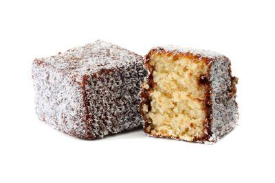 Lamington: 4.5 teaspoons of sugar