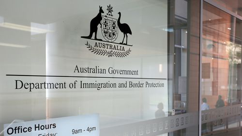 Department of Immigration and Border Protection building, Sydney. (AAP)