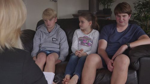 Max's siblings talk about his condition and violent meltdowns to 60 Minutes. Picture: 60 Minutes