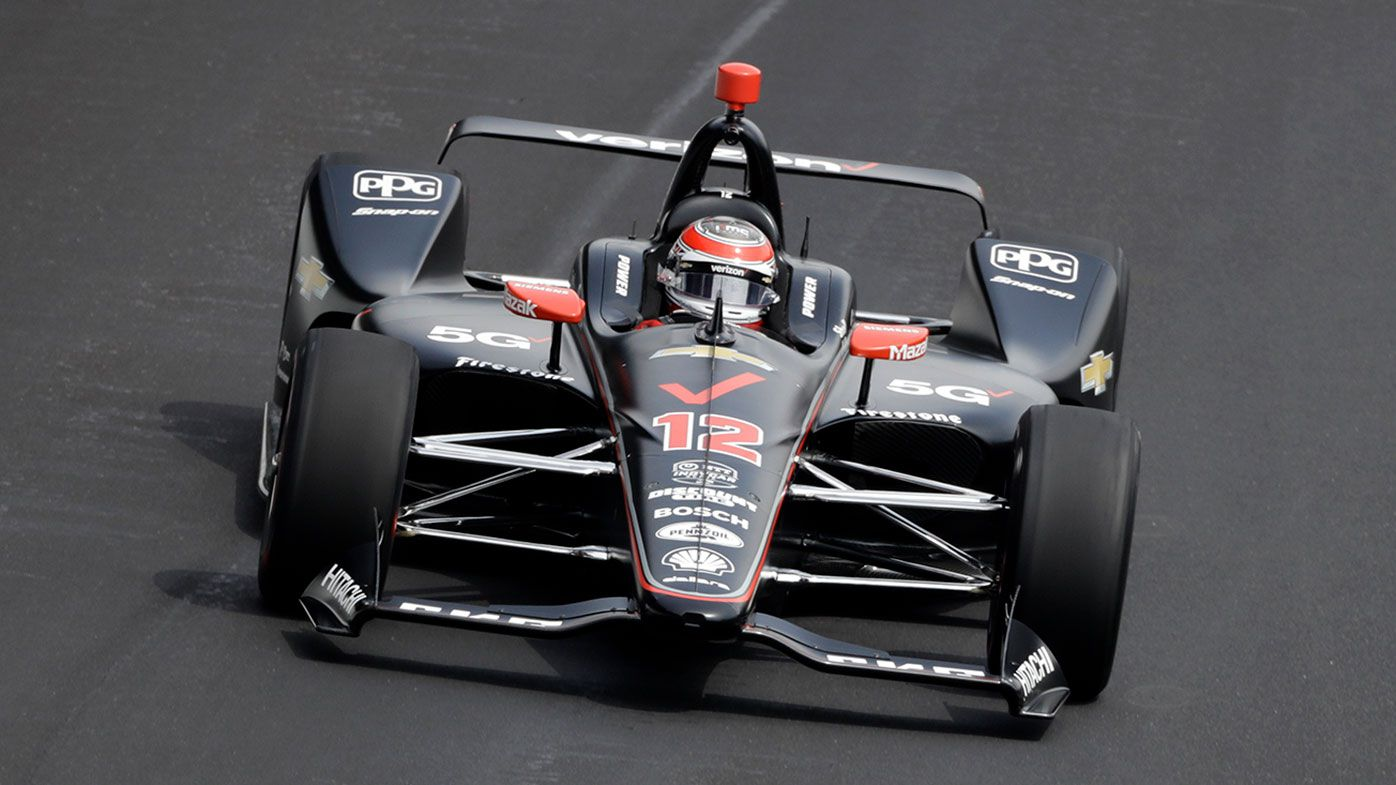 Will Power received a controversial penalty during the Indy500.