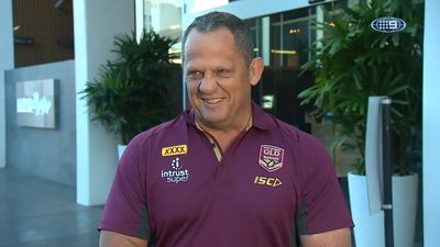 Queensland assistant coach Steve Walters receives reminder he's in enemy territory for Origin II