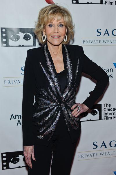 Jane Fonda at the Cinema/Chicago Honours ceremony on July 29, 2017