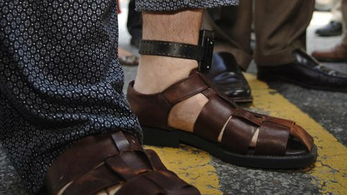 At least 50 murders have been committed across the US since 2012 by people ordered to wear ankle bracelets. (AAP)