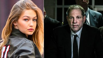 Gigi Hadid, Harvey Weinstein