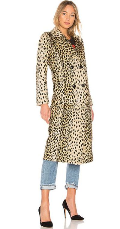 "<p>Add some personality with a playful applique</p> <p><a href=""http://www.revolve.com/house-of-harlow-1960-x-revolve-perry-faux-fur-coat-in-leopard/dp/HOOF-WO32/"" target=""_blank"" draggable=""false"">X Revolve Perry Faux Fur Coat in Leopard, $351.54</a></p> <p>&nbsp;</p>"