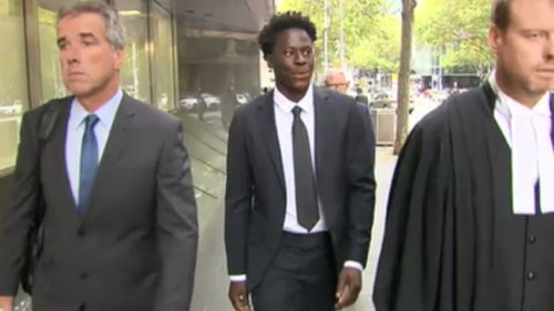 The 20-year-old was spared jail today. (9NEWS)