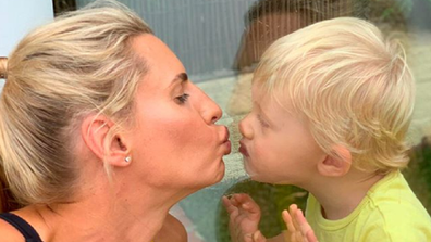 Tiffany's son Arnold is 21-months.