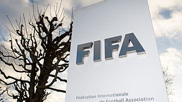 FIFA headquarters sign (AAP)