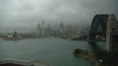 Sydney storm, October 14