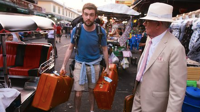 Jack and Michael Whitehall travelled to south-east Asia for their first turn around the world.