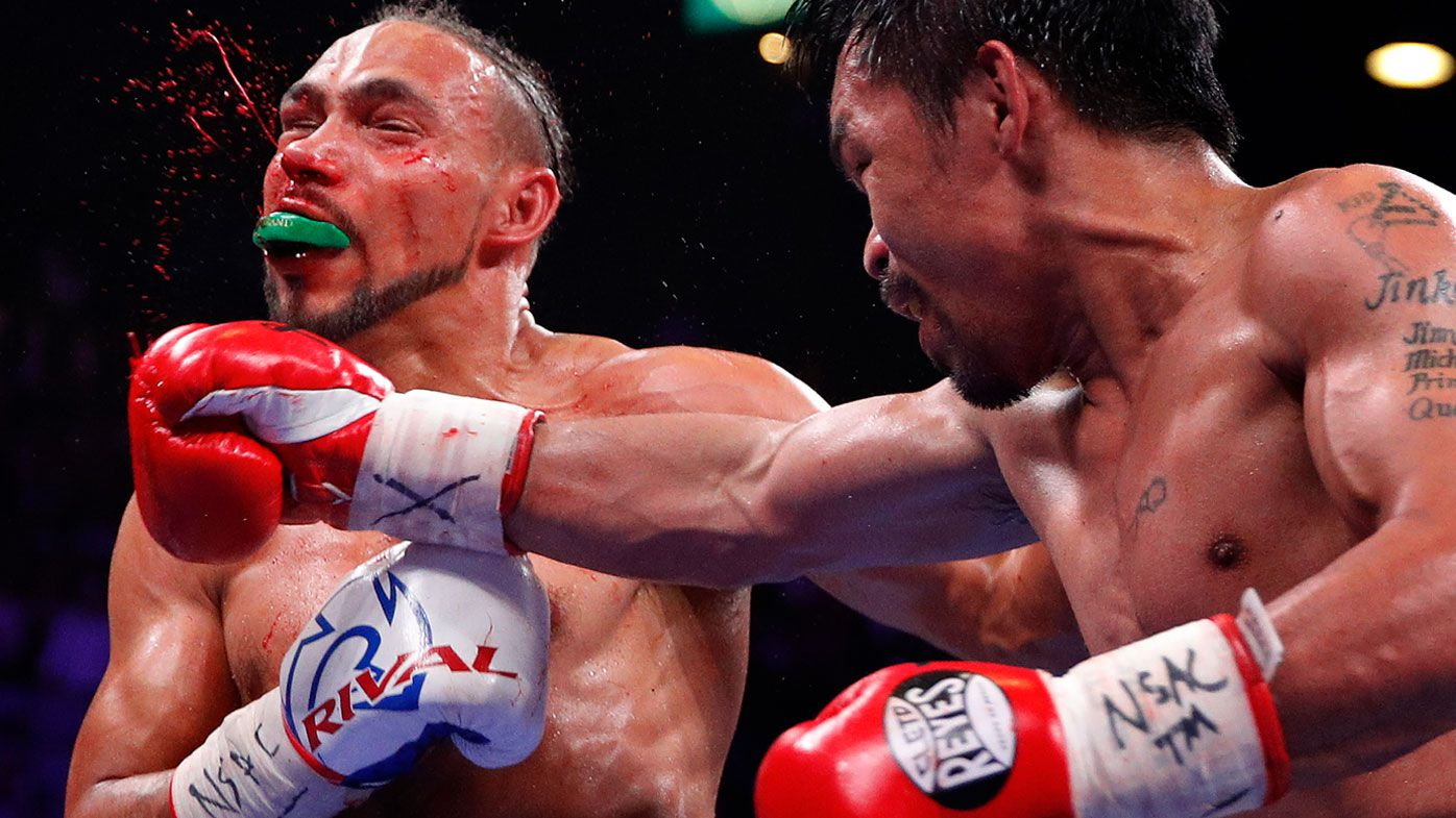Boxing: Manny Pacquiao defeats Keith Thurman by split decision
