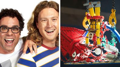 Trent and Josh LEGO Masters 2020