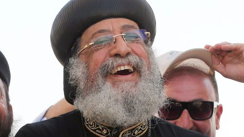 Coptic Pope arrives in Sydney