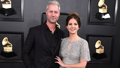 Grammys, red carpet, debut, Lana Del Rey, Sean Larkin