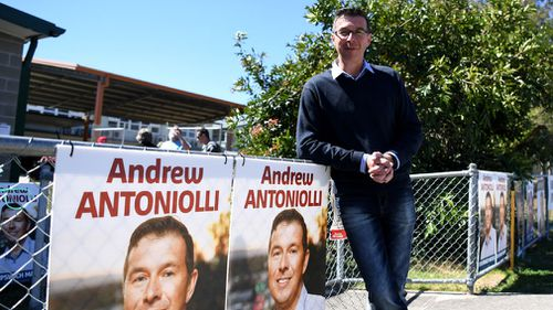 Ipswich Mayor Andrew Antoniolli has stood down after being charged with corruption. Picture: AAP