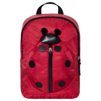 "<a href=""https://www.alexandalexa.com/dolce-gabbana-red-ladybird-leather-and-nylon-backpack/p/135021?dfw_tracker=25658-206206_89879_OneSize_?country_override=AU&gclid=EAIaIQobChMIkOTNytqZ1QIVgiy9Ch3p2gHYEAYYAiABEgJ8XvD_BwE"" target=""_blank"">Dolce and Gabbana Leather Ladybug Backpack, $625.</a>"