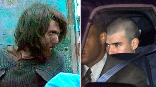 John Walker Lindh (left) in 2001 claiming to be an American Taliban volunteer. While on the right he leaves the Alexandria Detention Center in Alexandria, Virginia in 2002.