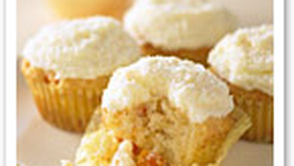 Papaya and coconut cupcakes