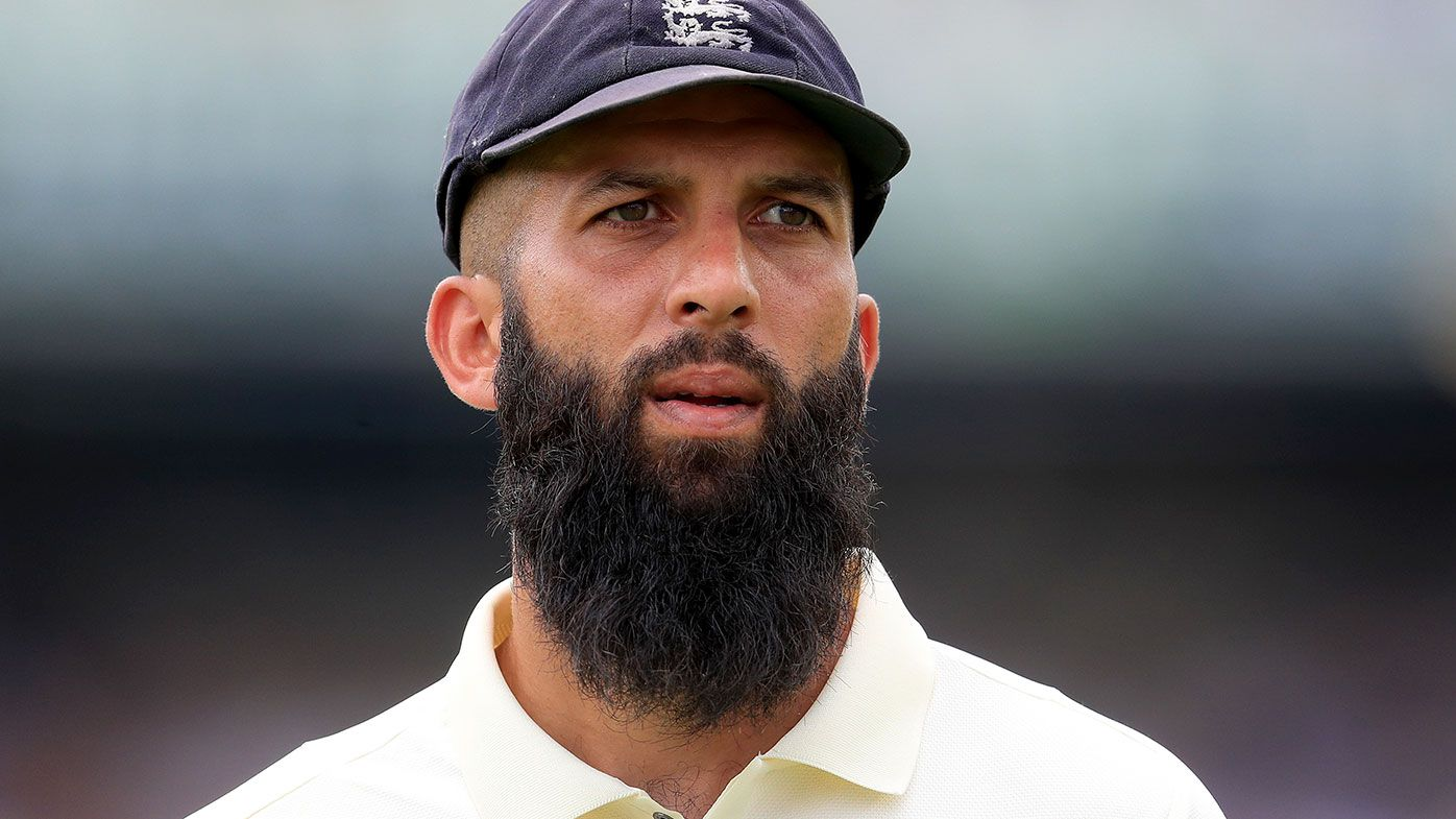 Moeen Ali continues to struggle against Australia.