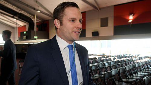 Liberal junior minister Alex Hawke. (AAP file image)