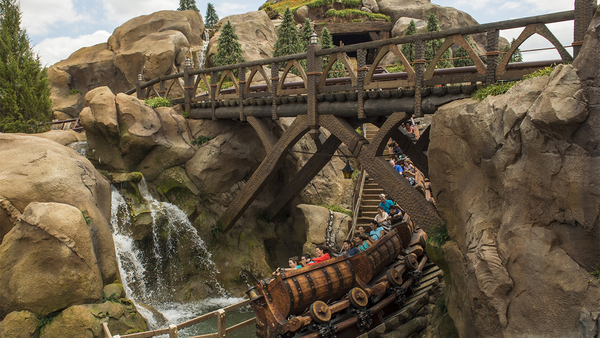 A springtime opening is planned for the Seven Dwarfs Mine Train, a rollicking family-style coaster and the crown jewel of New Fantasyland at the Magic Kingdom Park. The park is preparing to celebrate its 50th anniversary in October.