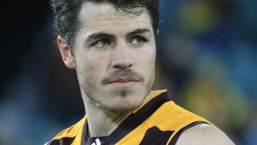 Isaac Smith has signed a contract extension until 2020 with Hawthorn. (AAP)