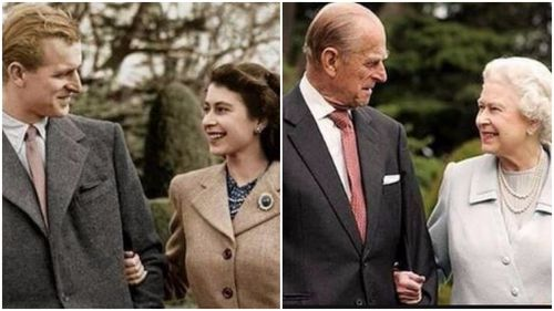 The Queen and the Duke of Edinburgh were married in 1947. Picture: AAP