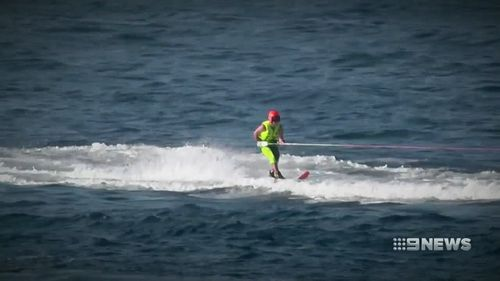 Sarah Teelow was a world champion water skier at just 20 years old. Picture: 9NEWS
