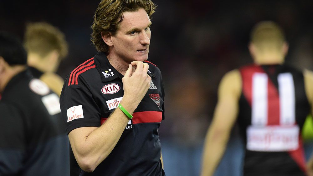 AFL CEO Gillon McLachlan wants James Hird to present Norm Smith Medal on grand final day