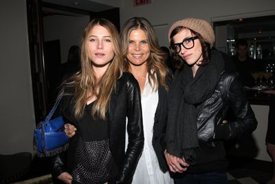 Now: Actress Mariel Hemingway and daughters Dree and Langley Hemingway in 2011.
