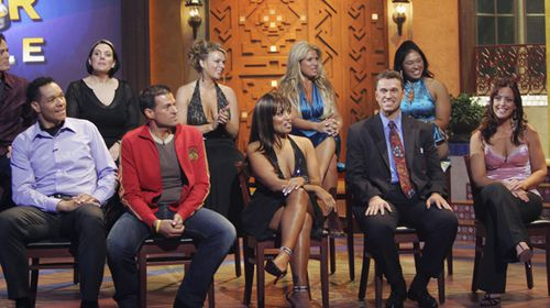 Contestants from the US Biggest Loser season two at the finale. Scroll down to see what they look like now.