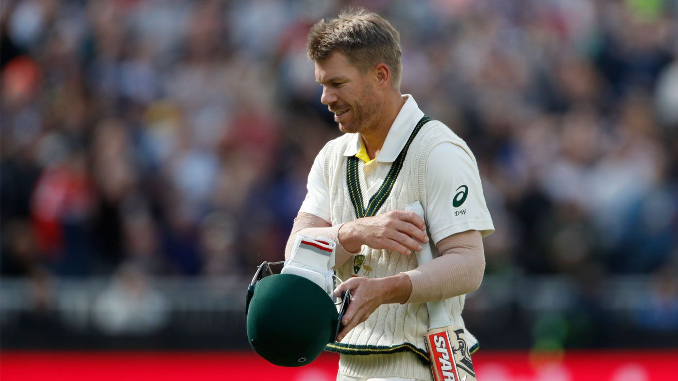 Warner's woes continued on day four at Old Trafford