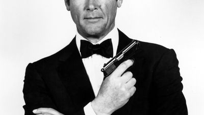 Sir Roger Moore's Greatest Bond Moments: Photos