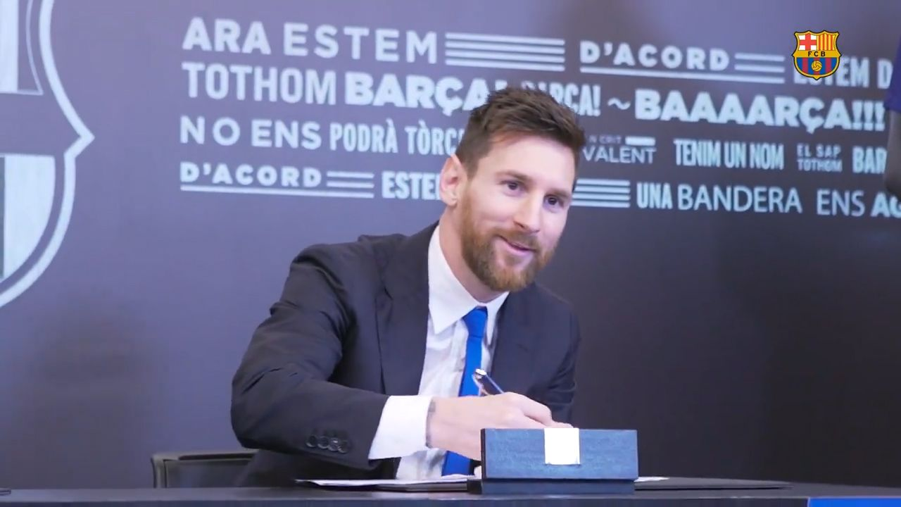 New Messi contract includes billion-dollar buyout