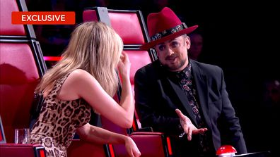 Boy George and Delta Goodrem's heart to heart about heartbreak