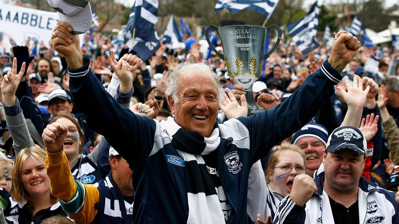 Former Geelong Cats president Frank Costa dies at 83 after battle with cancer
