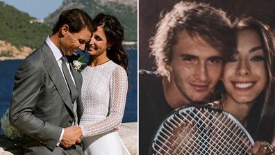 Rafael Nadal, wife, Xisca Perello, wedding, Spain, Alexander Zverev, girlfriend, Brenda Patea