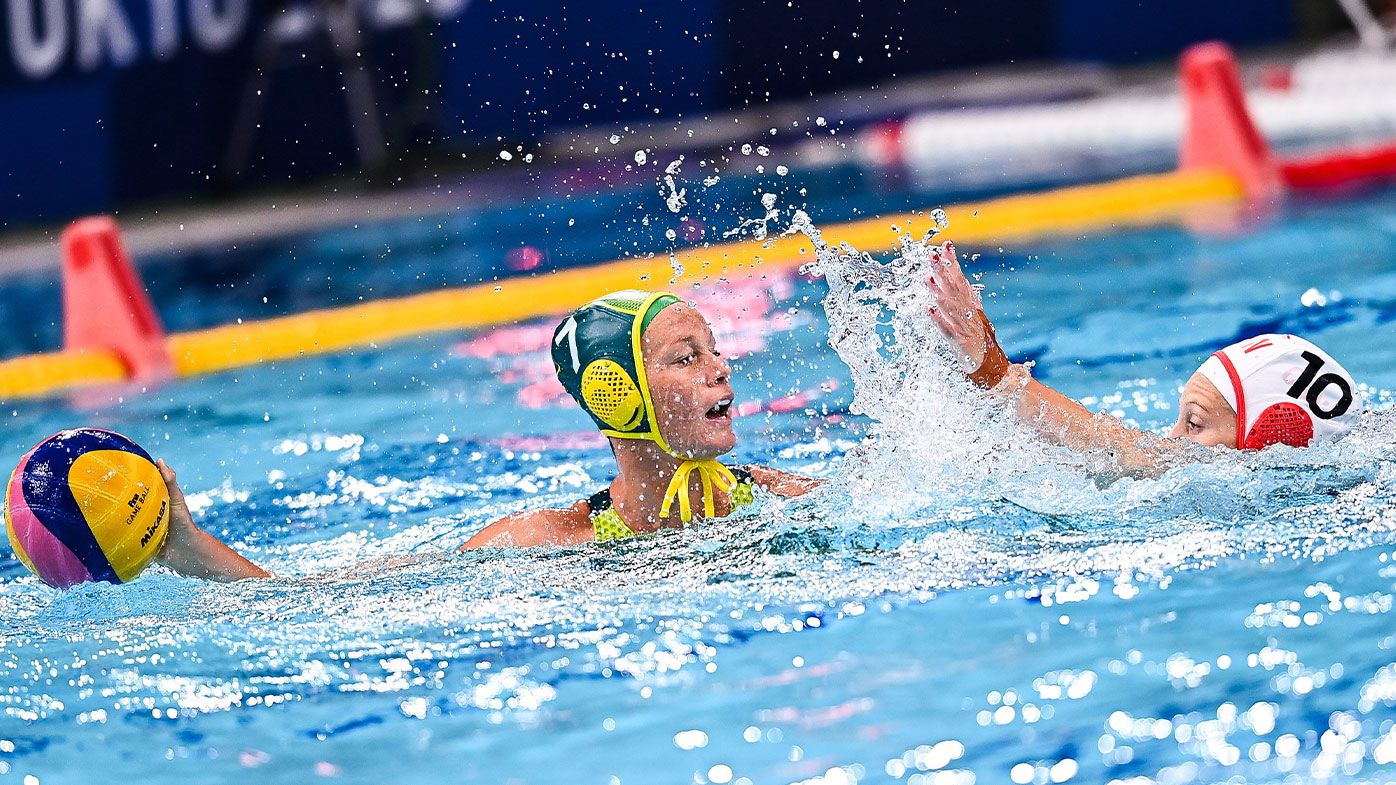 Stingers water polo team defeat Canada 8-5 as daughter of league great shines for Australia