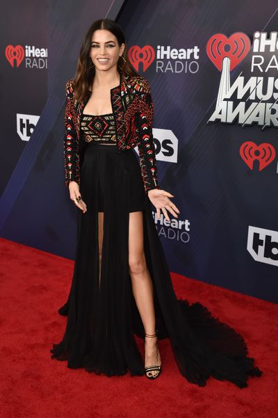Jenna Dewan Tatum at the 2018 iHeart Radio Music Awards in Los Angeles